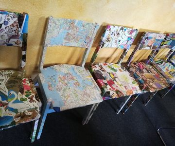 "vhs Siebengebirge talentCAMPus ""Upcycling"""